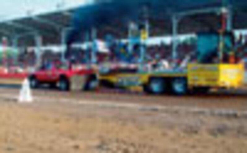 Diesel Truck Sled Pulling Information - Burnin' Rubber