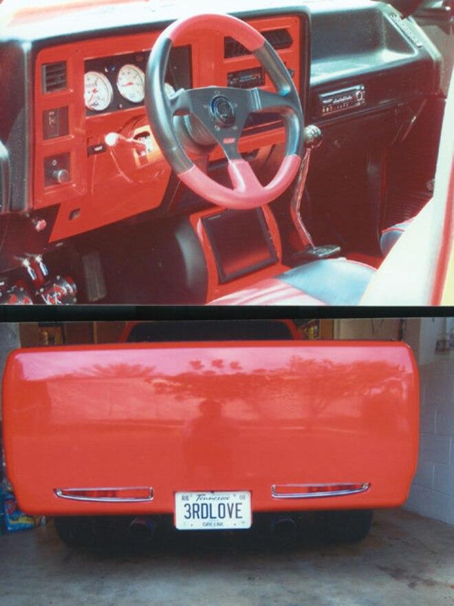 custom Trucks shaved Taillights