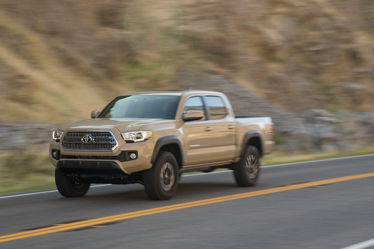 16 Toyota Tacoma TRD Rolling