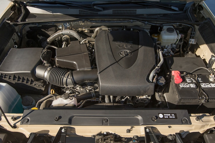 54 2016 Toyota Tacoma TRD Engine