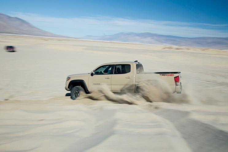 100 2016 Toyota Tacoma TRD Dune Blasting