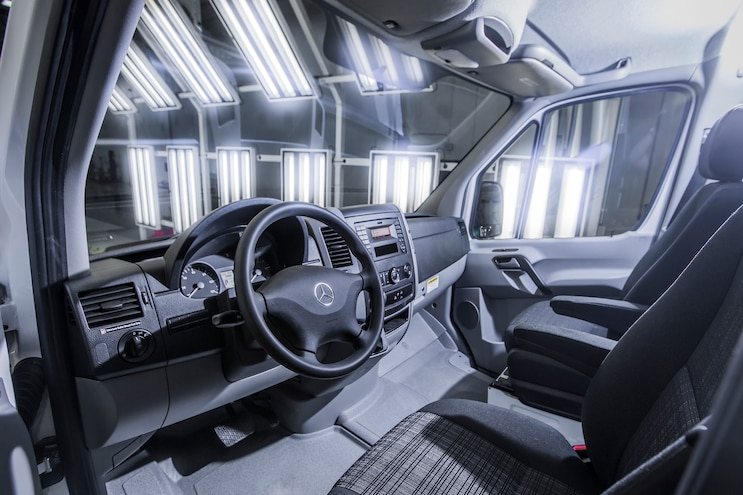 2016 Mercedes Benz Sprinter Worker Front Interior View 03