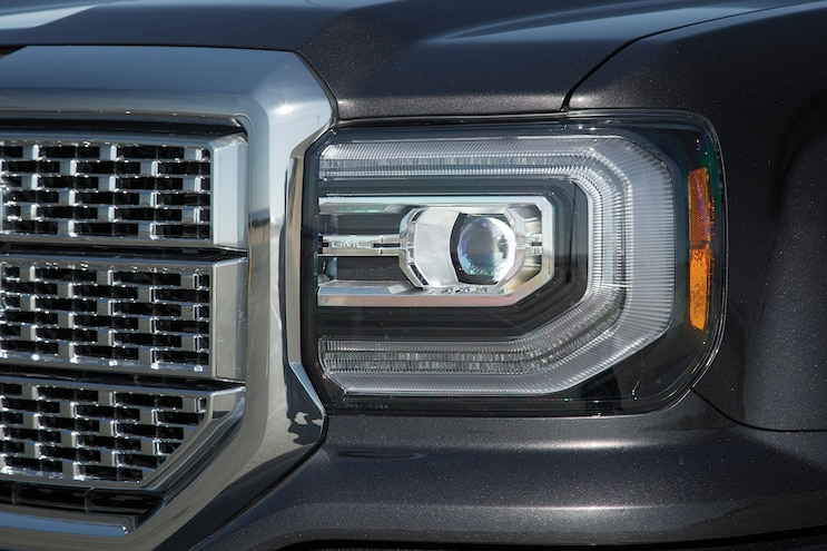 07 2016 GMC Sierra Denali Headlights