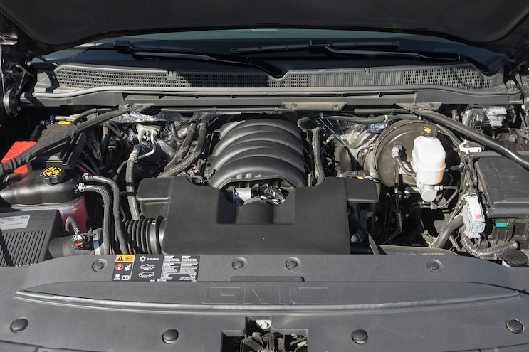 59 2016 GMC Sierra Denali Engine