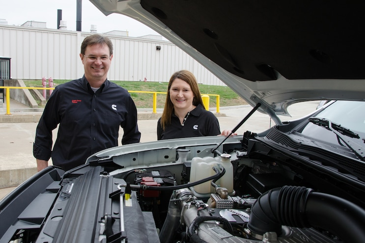 Interview: Tim Britt, Chief Engineer and Elma Avdic, Technical Project Leader, Cummins 5.0L V-8