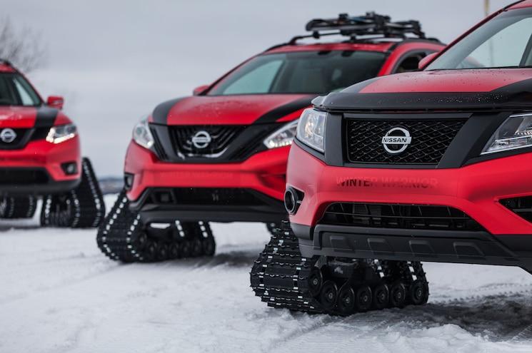 2016 Nissan Winter Warrior Concepts 11