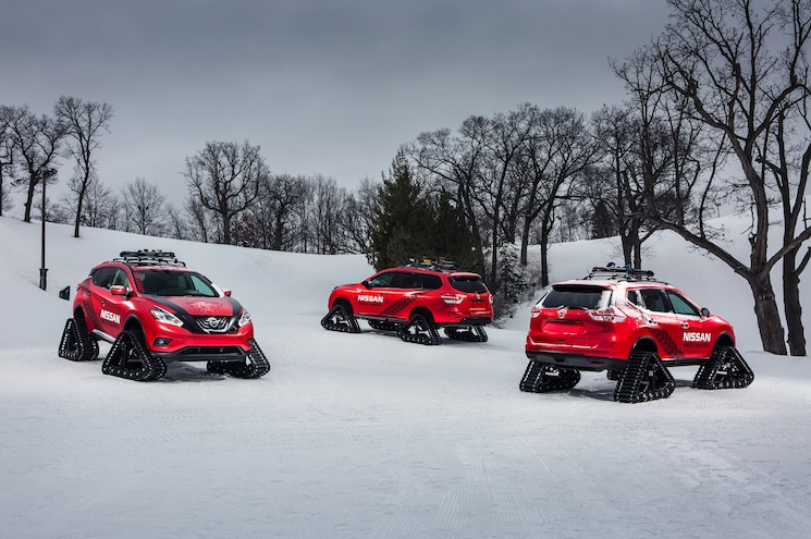 Nissan Brings Trio of Winter Warrior Concepts to Chicago