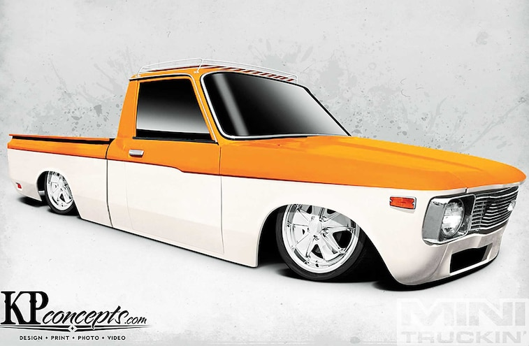 1979 Chevrolet Luv Kp Concepts Rendering