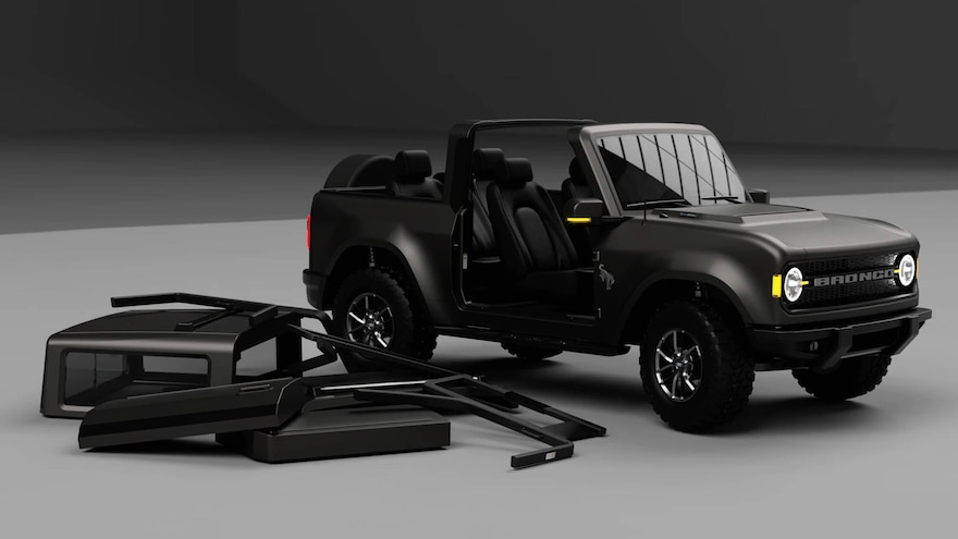 Ford Celebrates the 55th Anniversary of the Bronco With a New 2021 Bronco