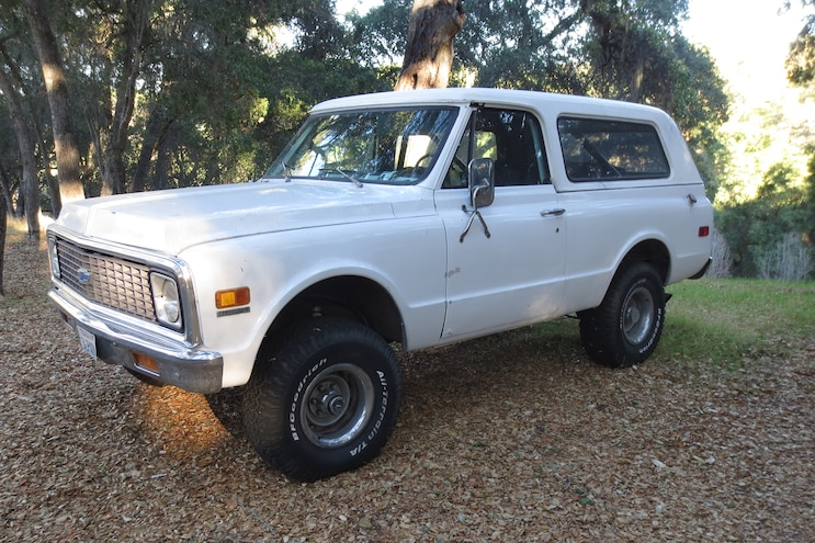 1972 Chevy K5: Resurrecting the Sublime Blazer- Intro