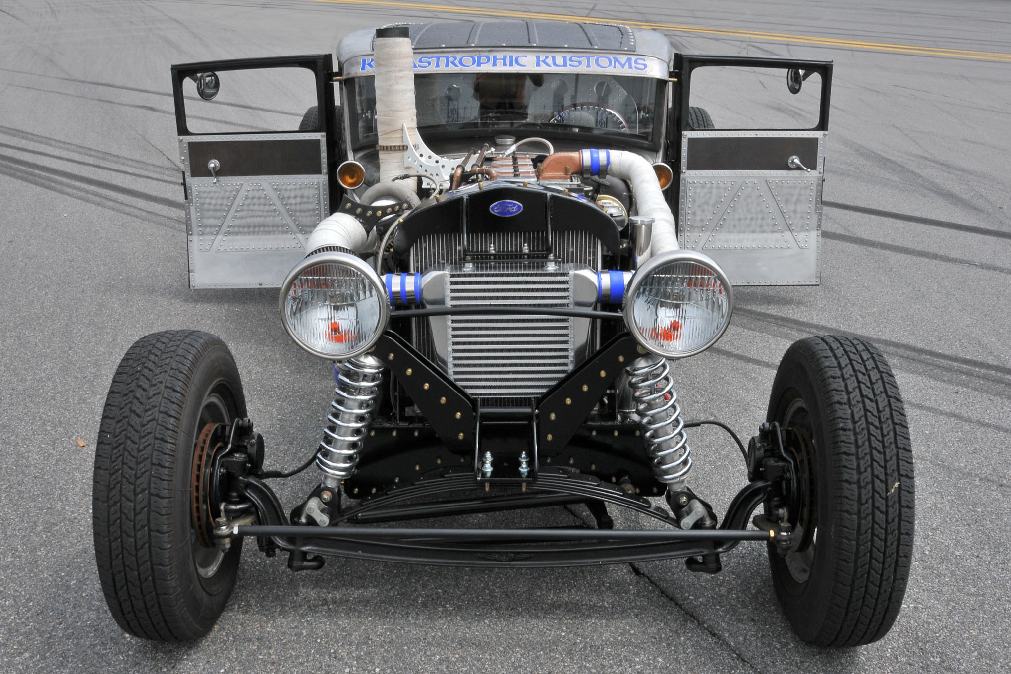 1932 Ford Radiator for Chevy or Mopar Motor Configuration Cool up to 400HP