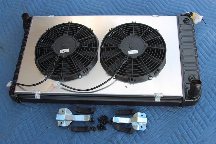 Installing a U.S. Radiator with Custom Shroud and Spal Electric Fans to Cool Our 383 Stroker SBC