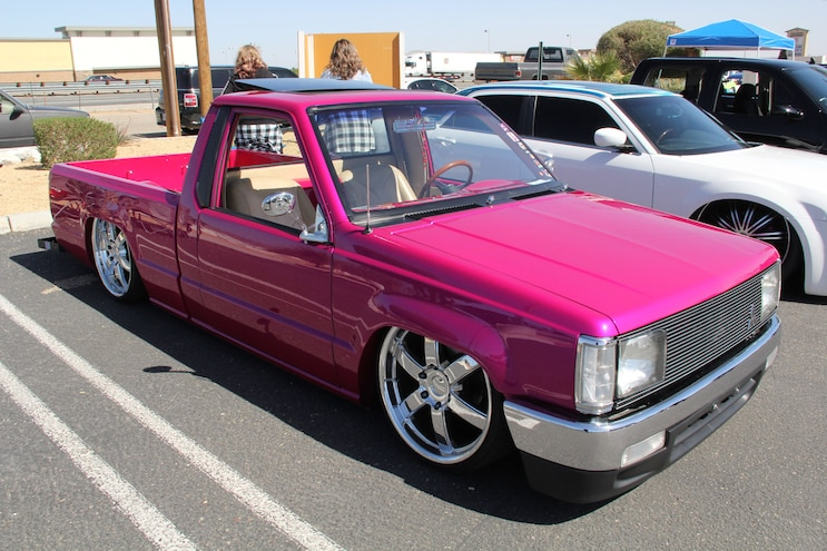 UnforgiveN Mini Truck Club 4th Annual Cruisin' for Breast Cancer Benefit Show: Four Years Running