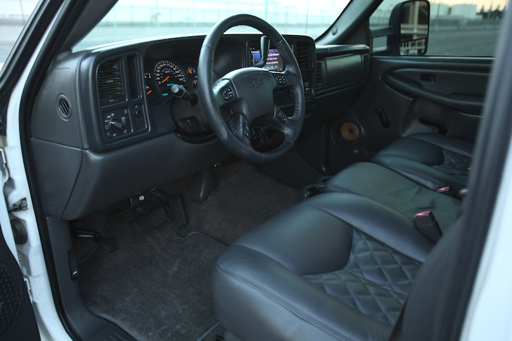Wrapping Up the Interior With a LMC Truck carpet, Grant Steering Wheel, and Stitchcraft Suede Headliner