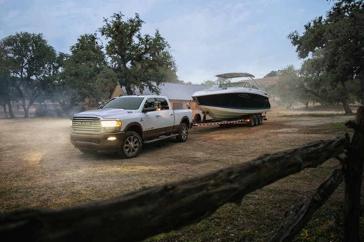 2019 Ram Heavy Duty Exterior Towing Front Quarter 01 2