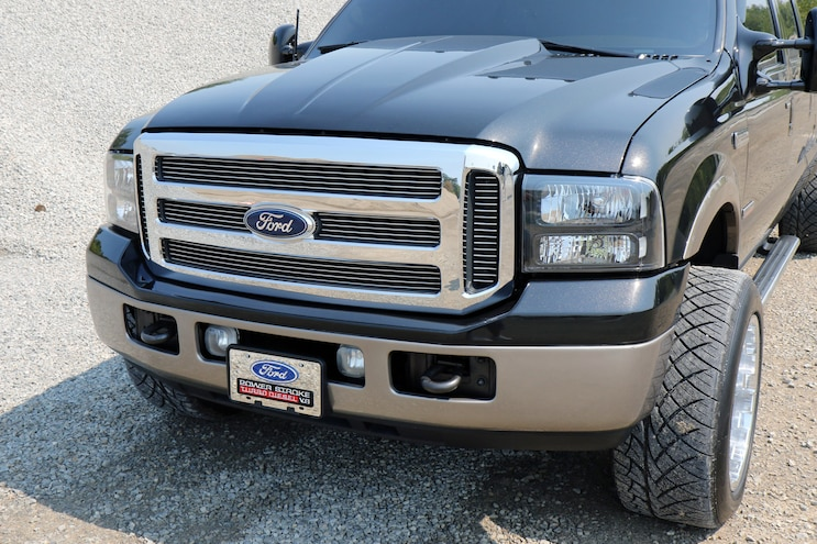 002 2005 F 350 Root Beer Float Front Clip