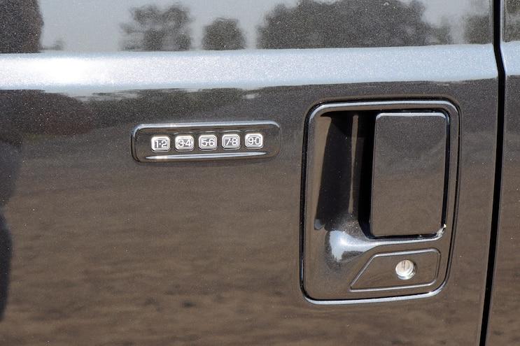 011 2005 F 350 Root Beer Float Door Handle