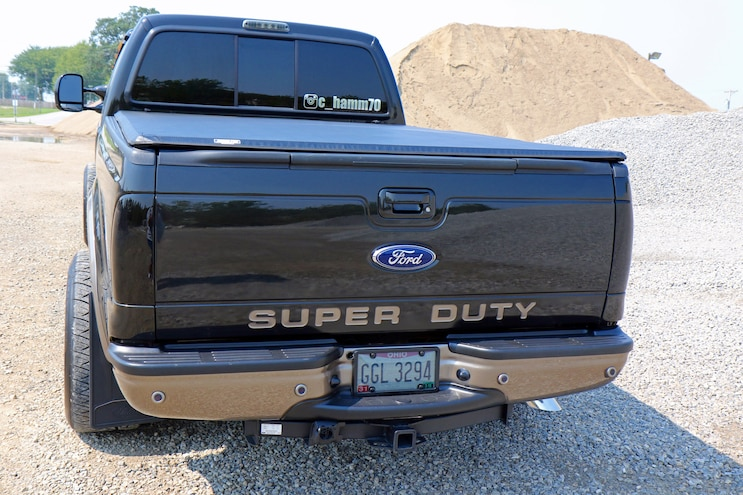 019 2005 F 350 Root Beer Float Tailgate