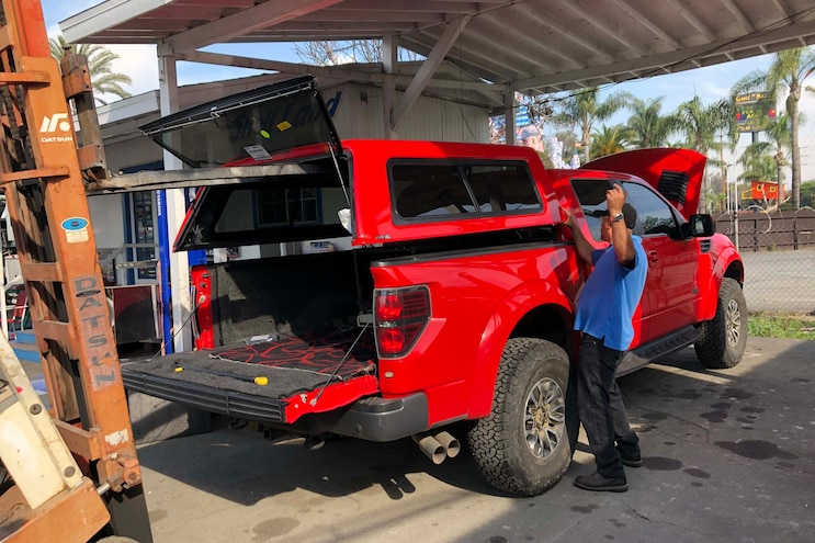 2013 Ford F 150 Raptor A R E Shell Install 006