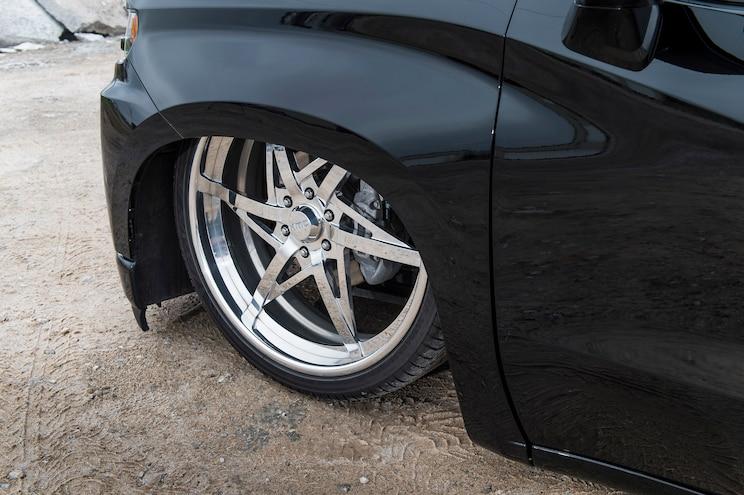 2019 Chevy Silverado The Dark Knight Wheel
