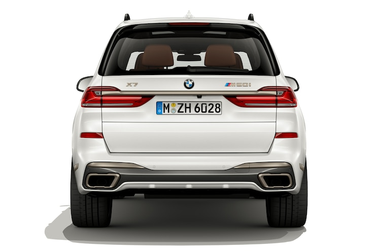 2020 Bmw X7 M50i Exterior Rear View