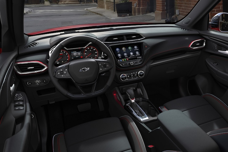 2021 Chevrolet Trailblazer Rs Interior Dashboard