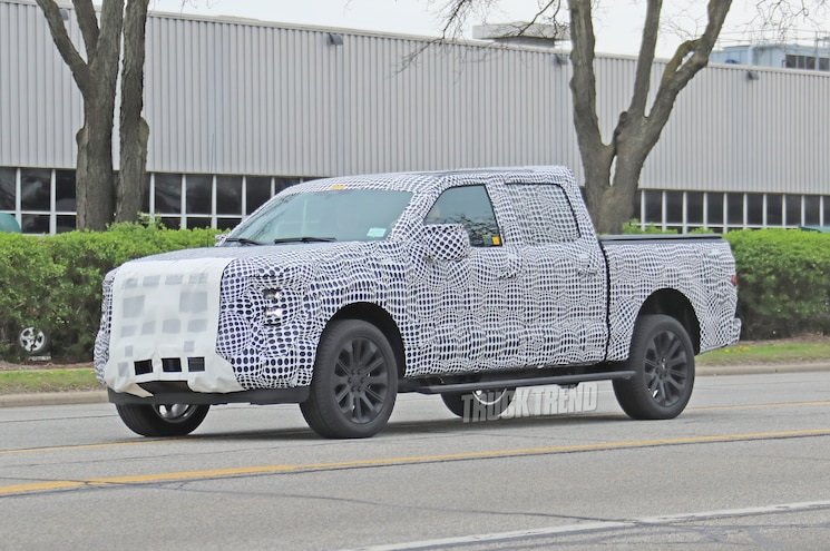 2021 Ford F 150 Spied Front Quarter 05