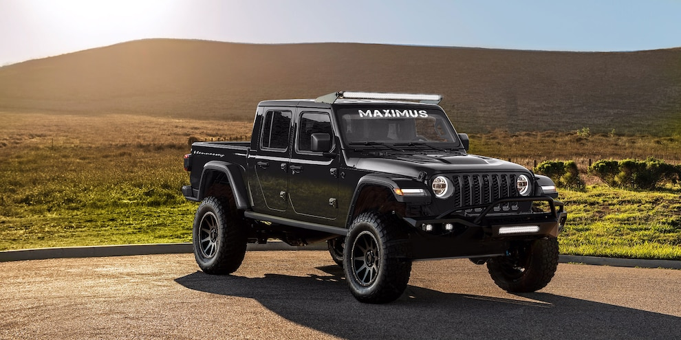 Hennessey Maximus Gladiator Gets a Hellcat