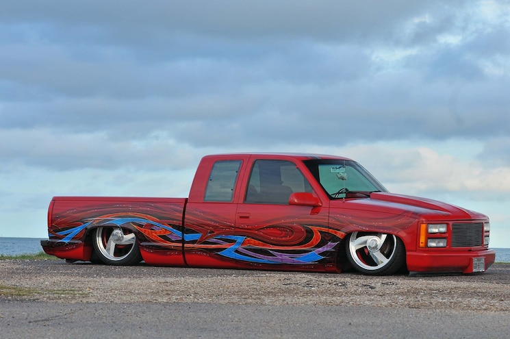 1993 GMC Sierra- Blood Line