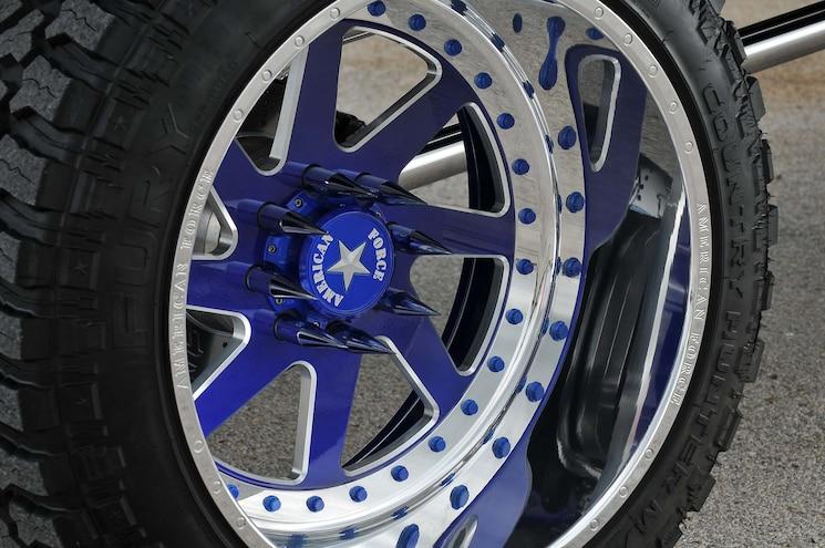 2016 Gmc Denali 2500hd Black Jack Wheel