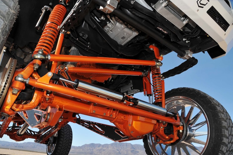 2017 Ford F250 Influential Front Suspension