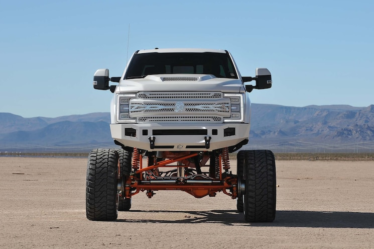 2017 Ford F250 Influential Front