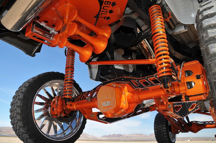 2017 Ford F250 Influential Rear Suspension