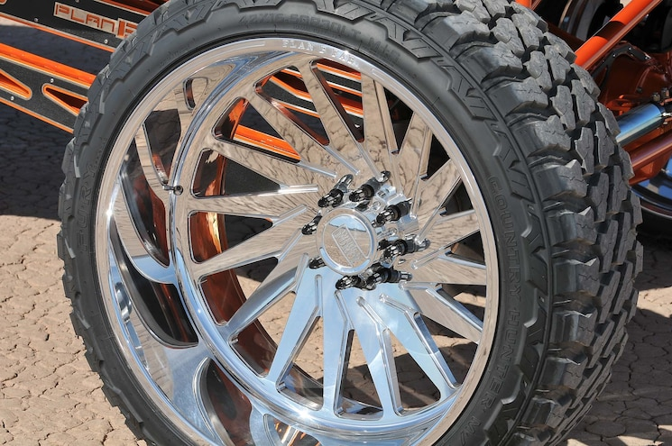 2017 Ford F250 Influential Wheel