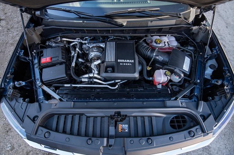 2020 Chevrolet Silverado 1500 Duramax Exterior Engine Bay
