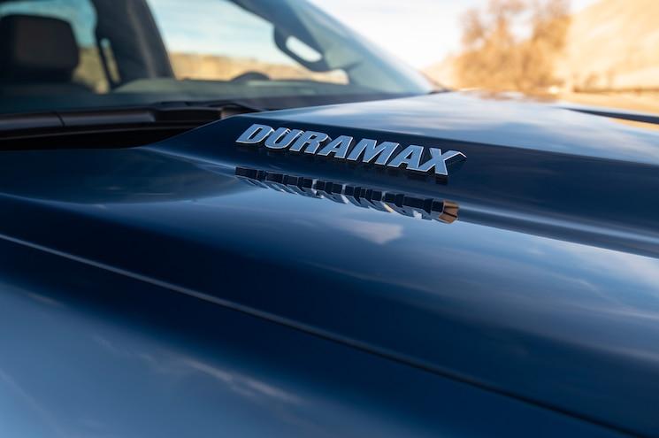 2020 Chevrolet Silverado 1500 Duramax Exterior Hood Badge