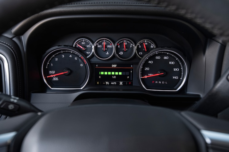 2020 Chevrolet Silverado 1500 Duramax Interior Instrument Panel
