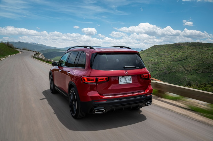 2020 Mercedes Benz Glb 250 Exterior Rear Quarter 03