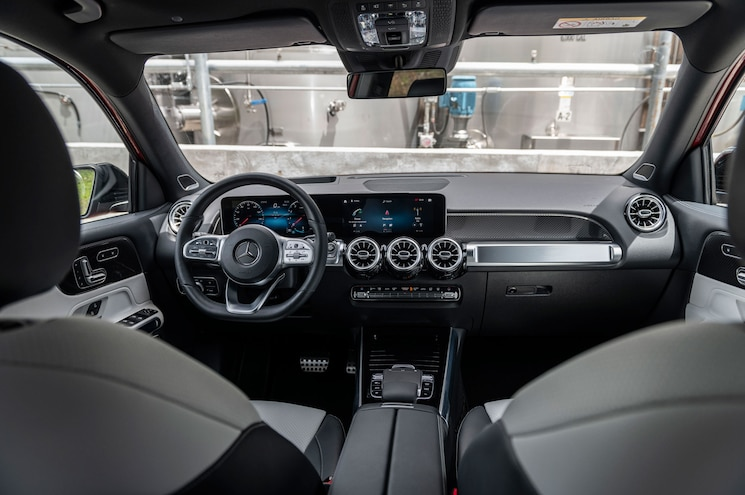 2020 Mercedes Benz Glb 250 Interior Dashboard 02