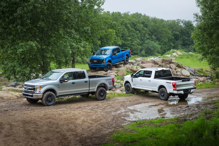 2020 Super Duty Tremor Trio