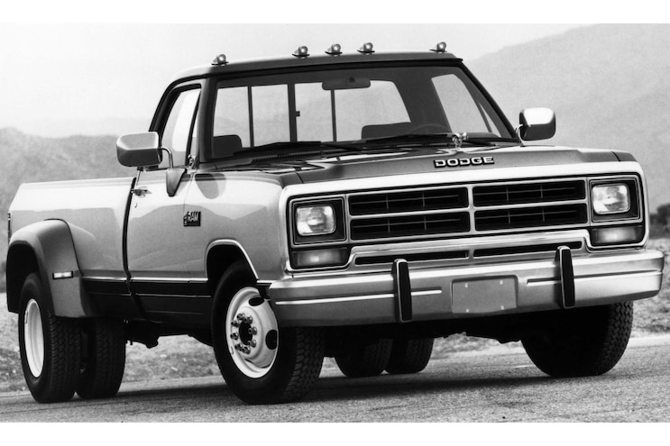 24 100 Years Of Dodge Trucks Dodge 100 16 1990d350 Dsl