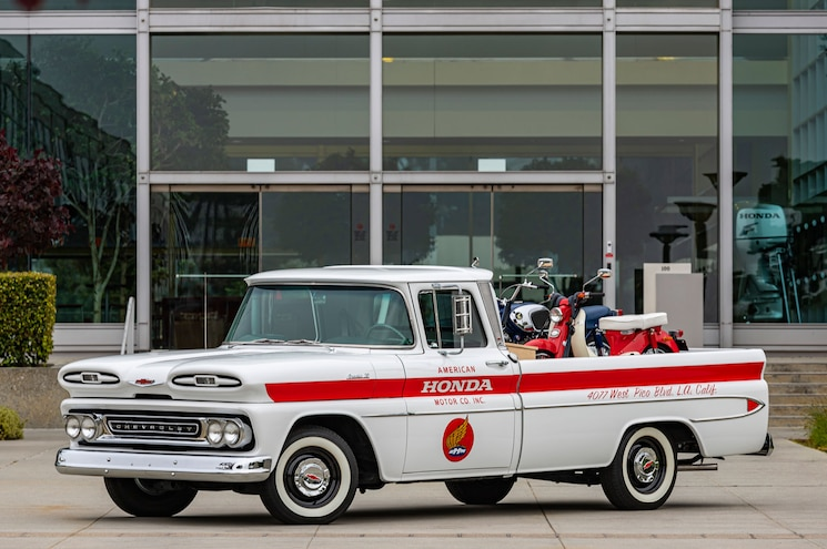 Honda Celebrates 60th Anniversary in U.S. by… Restoring a Chevrolet Apache?