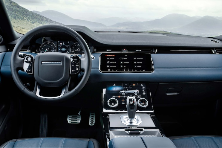 First Drive 2020 Range Rover Evoque Interior