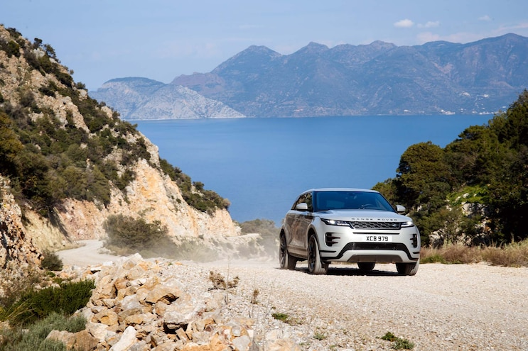 First Drive 2020 Range Rover Evoque Off Road
