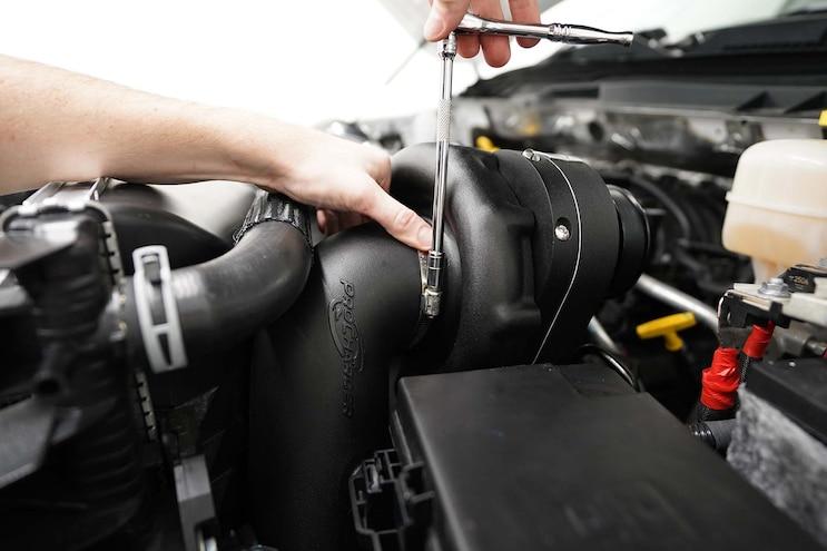 Installing Procharger On Ram 2500 24