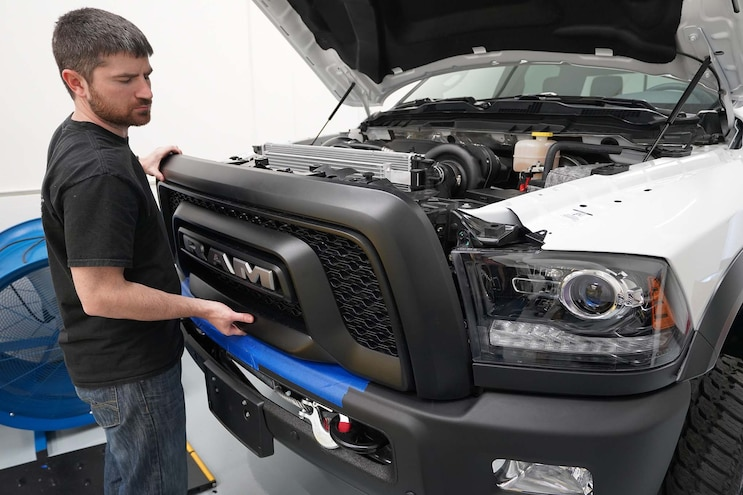Installing Procharger On Ram 2500 28