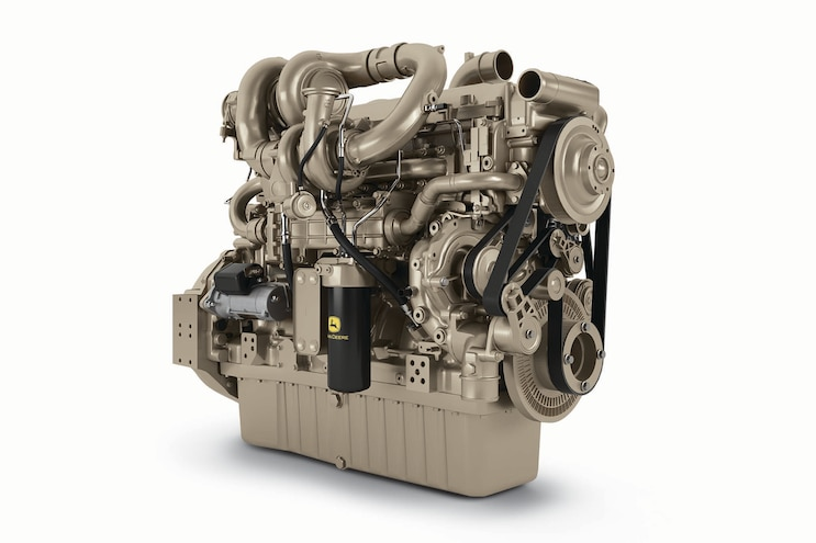 John Deere PowerTech 13.6L; Modern Engine Demands Met with Clean Slate Innovations