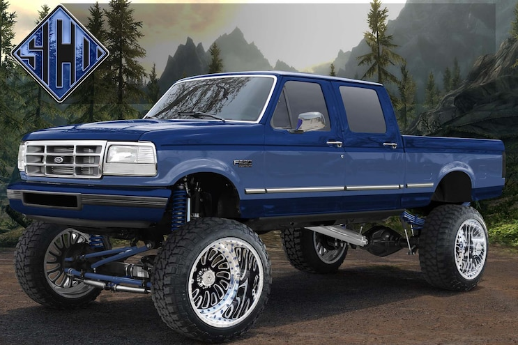 Radical Renderings Strictly Custom Designs Ford
