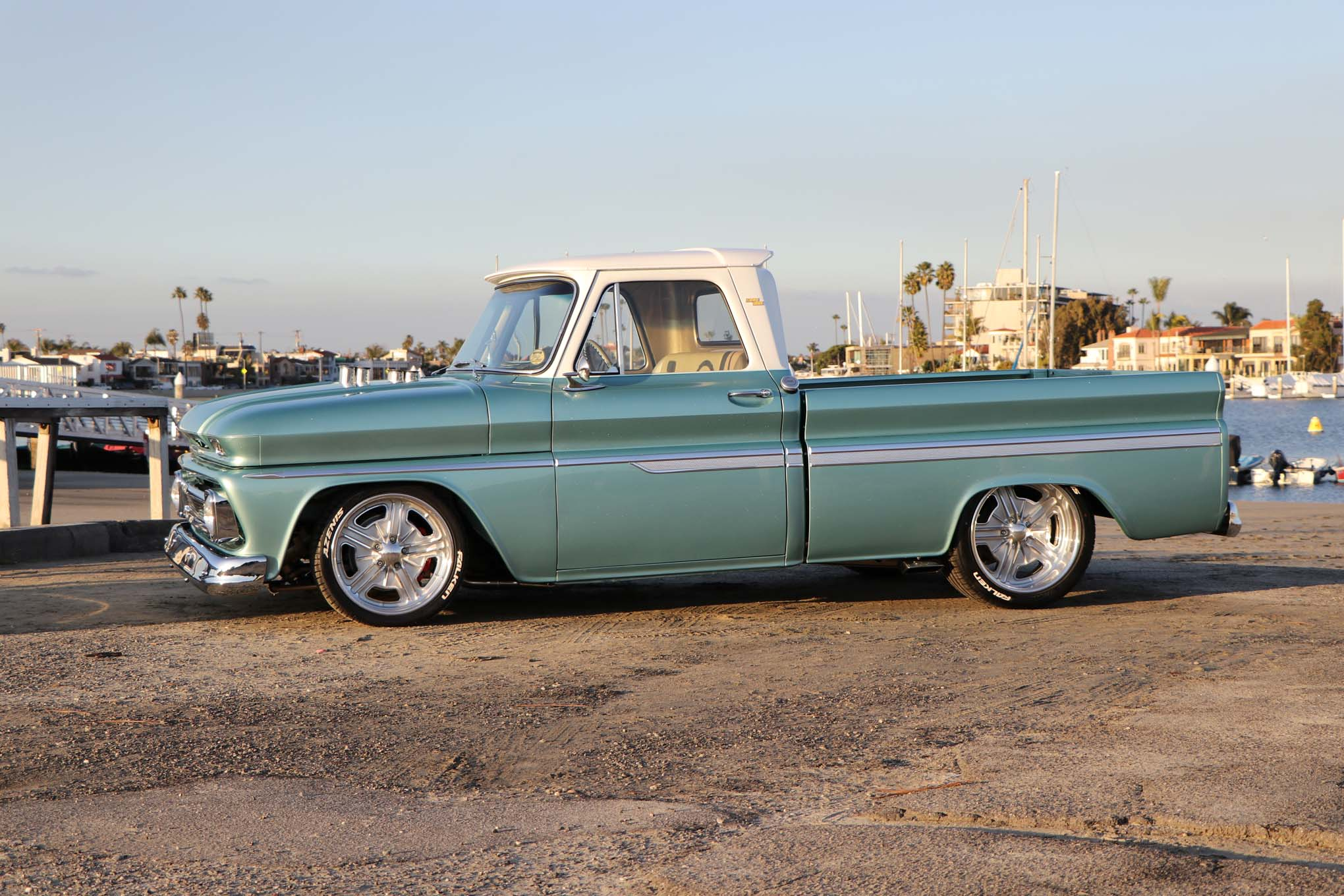 1964 Chevy C10 Huntington Beach Blues