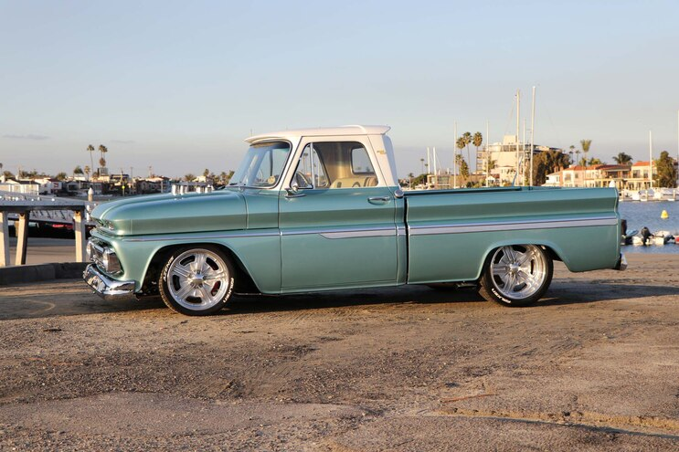 1964 Chevy C10 Huntington Beach Blues Side